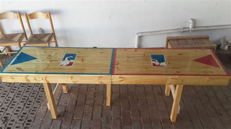 making a beer pong table portable beer pong table