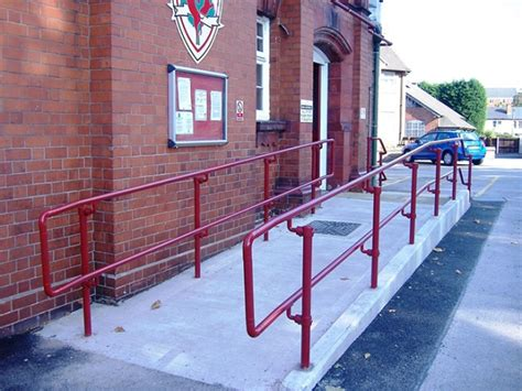 section 8 for disabled handrails for disabled compliant with the equality act