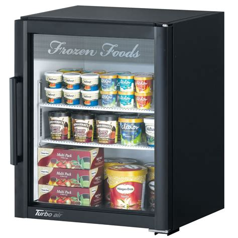 Countertop Display Freezer by Turbo Air Tgf 5sd Black Deluxe Countertop Display