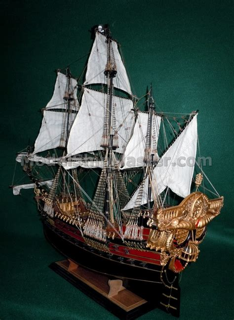 boat accessories rogers jolly roger pirate model ship