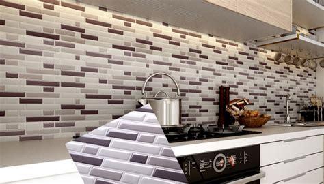 peel and stick tile backsplash for kitchen wall mosaic