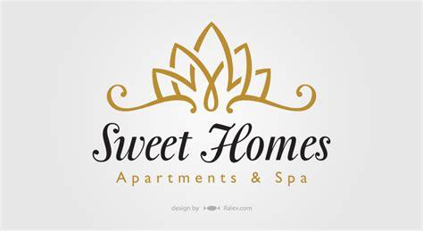sweethomes catalog cover ralev logo brand design sweet homes apartments spa identity design ralev