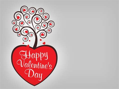 happy valentines day greeting card vector template free vector