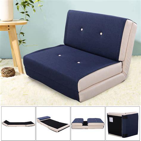 fold out futon giantex fold chair flip out lounger convertible