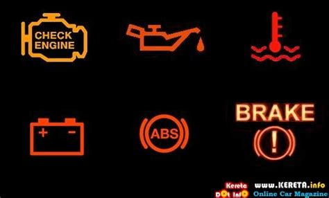 Warning Lights On A Car by Car Warning Lights Autos Cars Lights And Education