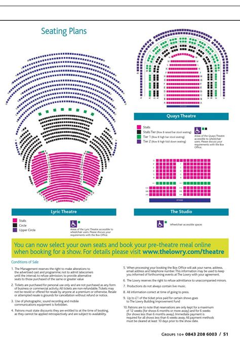 lyric theatre floor plan the lowry january april 2014 by the lowry issuu