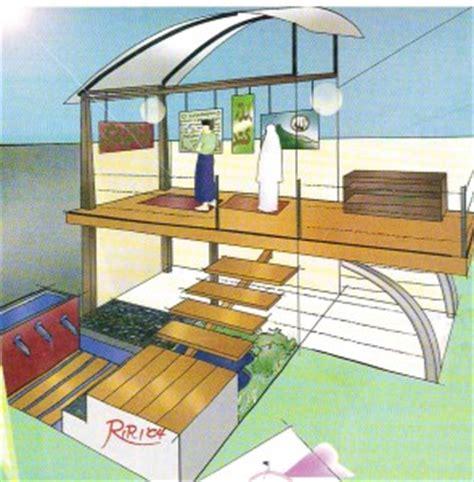 membuat rumah panggung membuat mushola dalam rumah panggung di atas dapur 295 215 300
