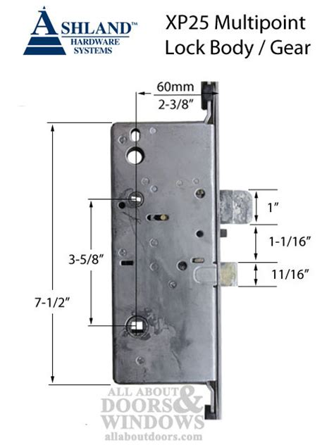 therma tru door locks ashland xp25 multipoint lock for jeld wen caradco