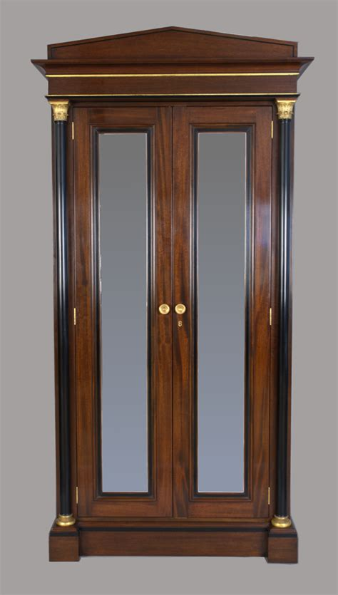 mahogany armoire cherry brook woodworks