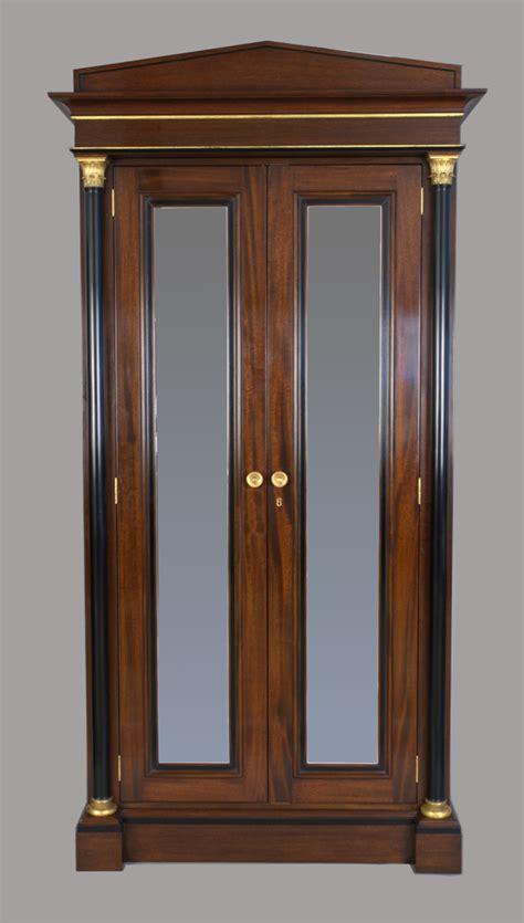 mahogany armoire mahogany armoire cherry brook woodworks