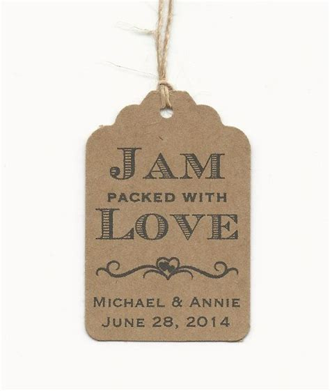 Jam Aa4 best 25 jam favors ideas on wedding favours