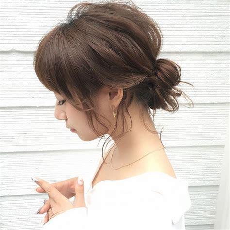 hairstyles arrange pin by 知亜紀 on ポニテ pinterest hair arrange hair style