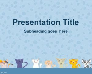 Free Cat Powerpoint Templates Cat Powerpoint Template