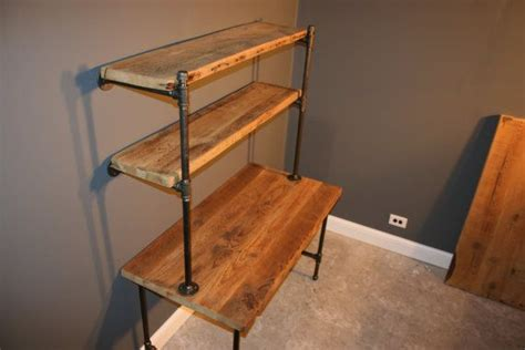 desk and shelving unit 10 best images about wooden shelving on pinterest
