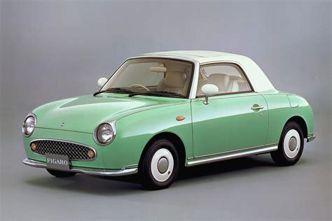 retro cer nissan figaro 1989 japanese classic car cars never die