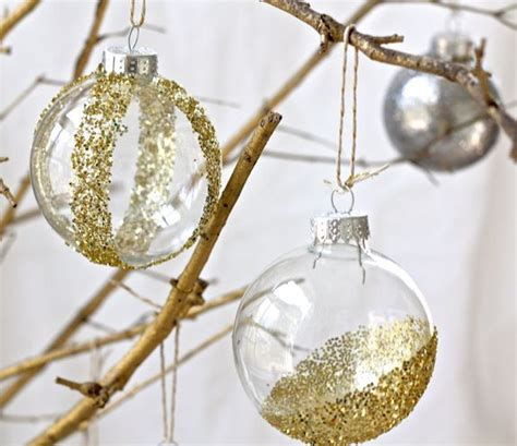 diy ornaments glitter diy glitter ornaments hellonatural co
