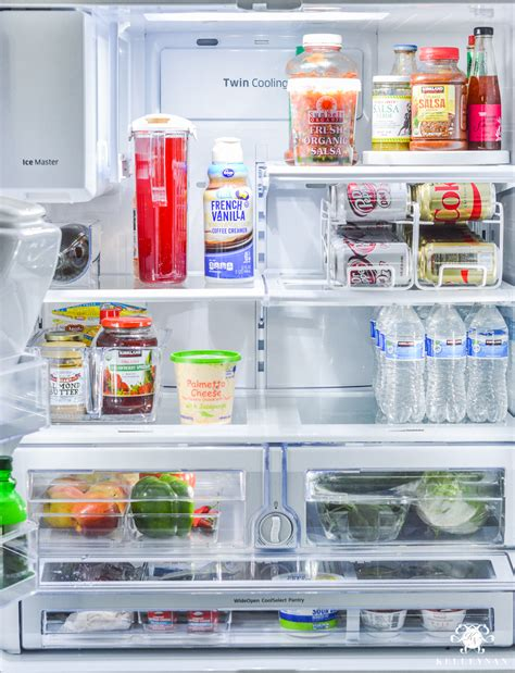 Kitchen Cabinet Transformation top 9 refrigerator organization solutions and an organized