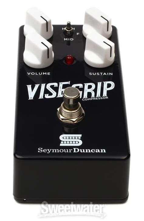 Seymour Duncan Vise Grip Compressor Hitam seymour duncan vise grip compressor pedal review by sweetwater sound sweetwater