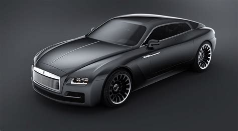 Render Jak By Mohl Vypadat Rolls Royce Wraith V Roce 2020