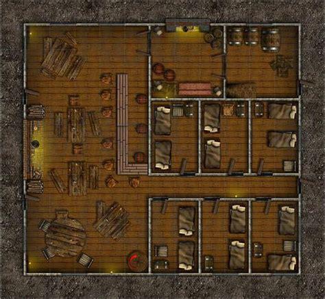 Floor Plan Blueprint Maker fox and the dagger inn ground floor roll20 marketplace