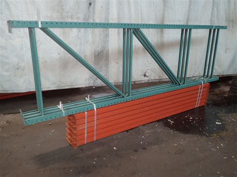 Used Pallet Racks For Sale by Teardrop Pallet Racking Lot 289485 For Sale Used