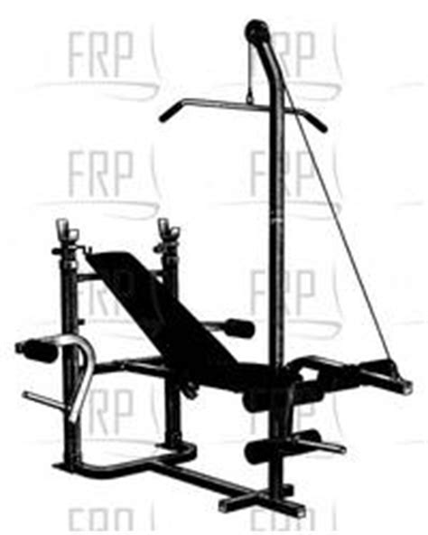 Weider 195 Weight Bench pin weider 195 weight bench by on