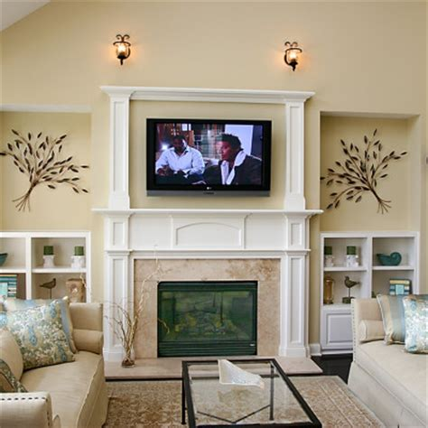 family room design ideas with fireplace family room decorating ideas with fireplace actual home