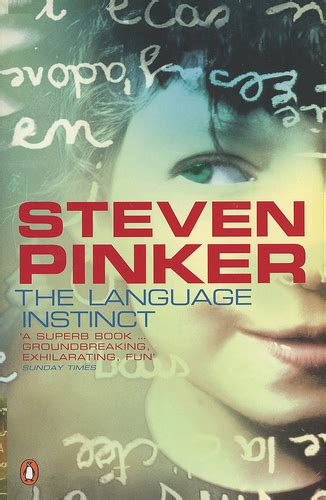 the language instinct how book review the language instinct by steven pinker