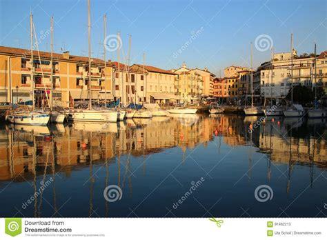 porto di grado il vecchio porto di grado italia fotografia stock