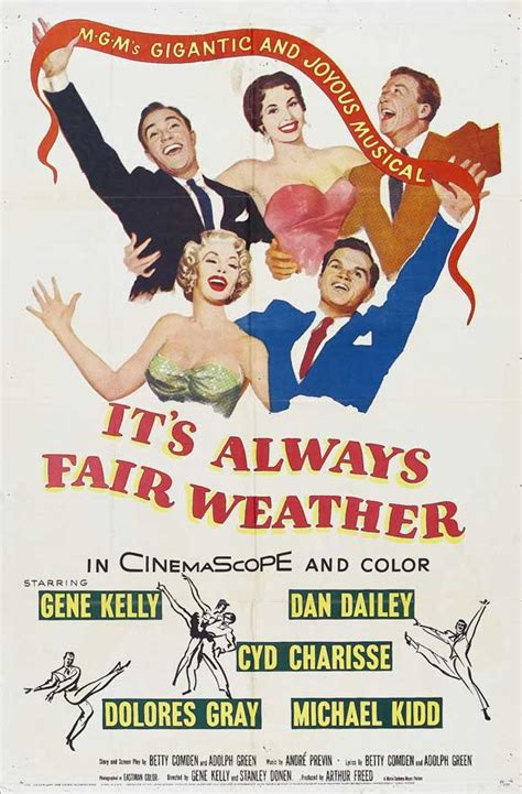 Film It Always Fair Weather | it s always fair weather movie posters from movie poster shop