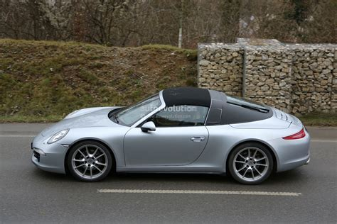 latest porsche spyshots new porsche 911 targa almost undisguised