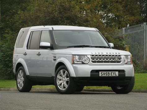 silver land rover discovery used land rover discovery 2009 automatic diesel 3 0 tdv6