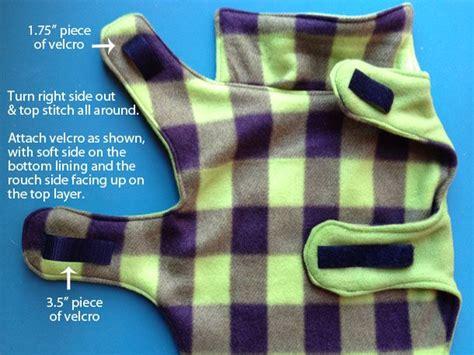 pattern for dog coat fleece cozy fleece dog coat tutorial my dogs pinterest