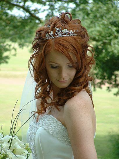 wedding hairstyles with a tiara adorning your half up half wedding hairstyles with