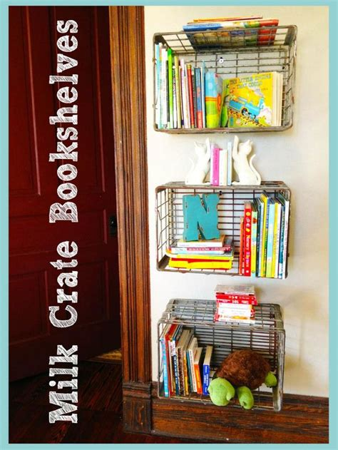 emily shares milk crate bookshelves max s big boy room