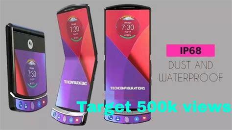 Motorola Razr V4 motorola razr v4 introduction the foldable smartphone