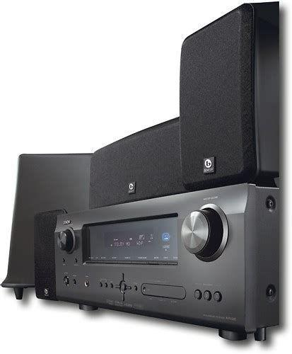 denon 375w 5 1 ch home theater system dht590ba best buy