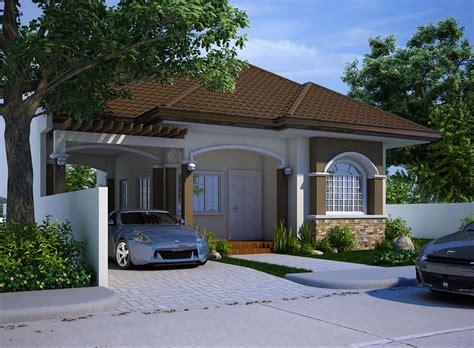Narrow Lot 2 Story House Plans by Small House Design 2013004 Pinoy Eplans