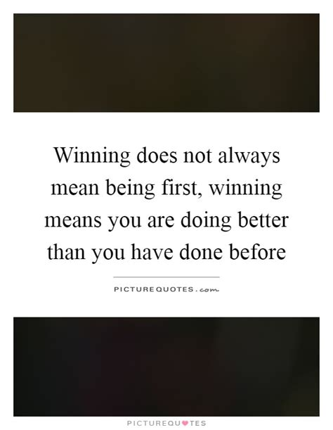 What Does It Mean To Dream About Winning Money - winning does not always mean being first winning means