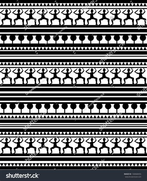 egyptian pattern black and white illustration maori egypt hieroglyphs pattern on stock
