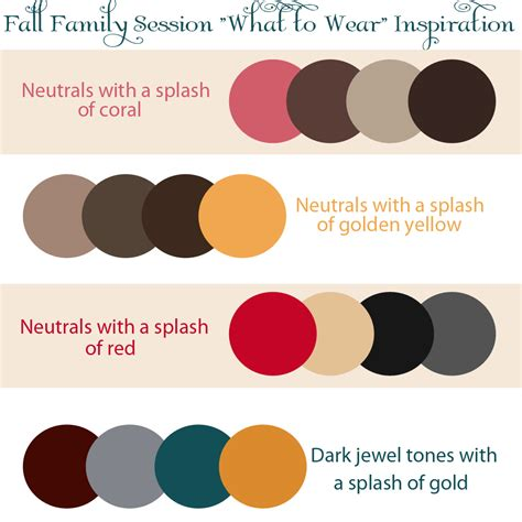 best colors to wear for pictures candice smith photography fall family quot what to wear quot guide
