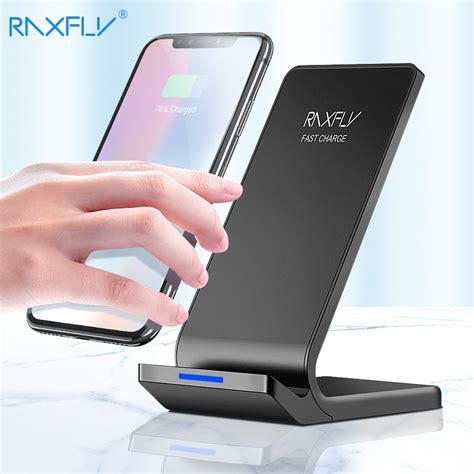 raxfly  wireless charger  iphone xs max xr    fast charging  samsung