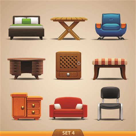 design icon furniture furniture free vector download 240 free vector for