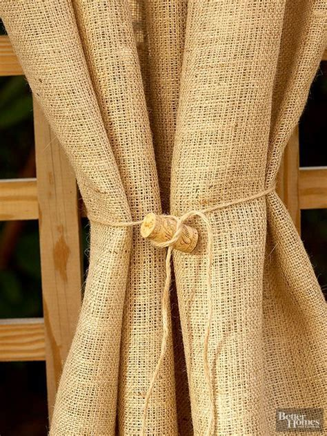 burlap outdoor curtains quick patio pick me ups home outdoor curtains and the o