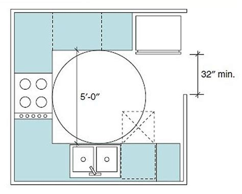 kitchen layout ada accessible living wheelchair clearance kitchen floor