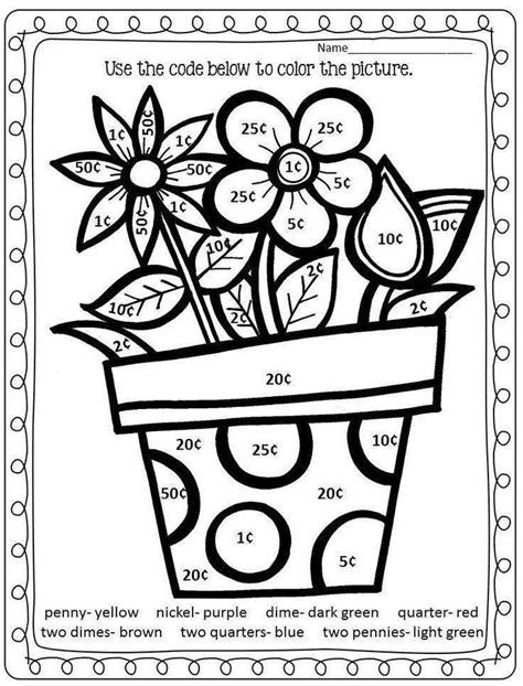 Math Coloring Page 4th Grade by Math Color By Number Worksheets Homeschooldressage