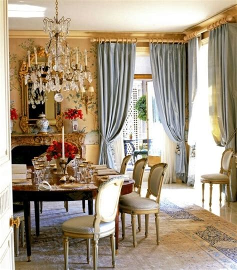 elegant drapes for dining room 44 elegant feminine dining room design ideas digsdigs