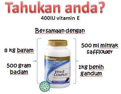 Vitamin E Yang Bagus Badan Sihat Hati Ceria Rahsia Kecantikan Kulit Kulit