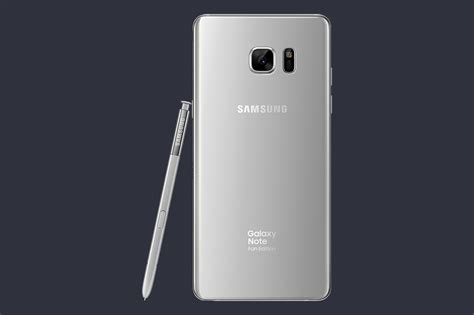 samsung note fan edition galaxy note 7 fan edition is official with smaller
