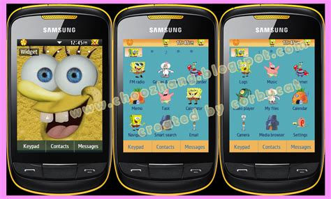themes of samsung corby 2 choozhang corby cat samsung corby 2 or s3850 sponge